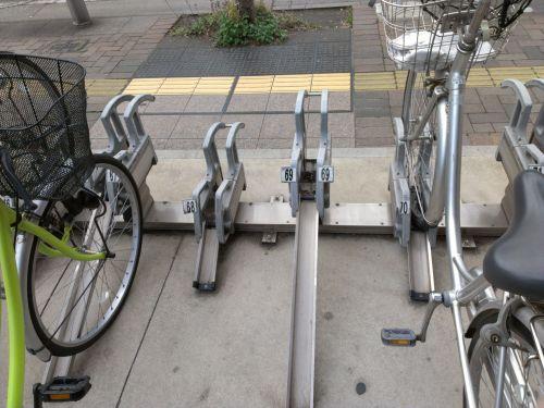 自転車かちっと